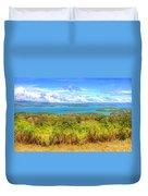 Costa Rica Landscape Duvet Cover