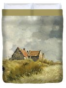 Cottage In The Dunes Duvet Cover