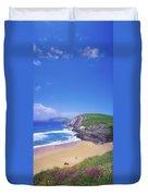 Coumeenoole Beach, Dingle Peninsula, Co Duvet Cover