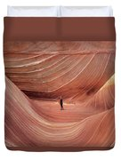 Coyote Buttes North Duvet Cover