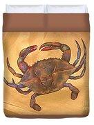Crab Duvet Cover