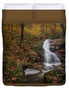 Crabtree Falls Duvet Cover