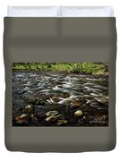 Creek, Smoky Mountains, Tennessee Duvet Cover
