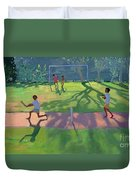 Cricket Sri Lanka Duvet Cover by Andrew Macara