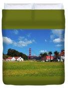 Crissy Field - San Francisco Duvet Cover