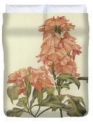 Crossandra Duvet Cover