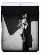 Crucifixion Duvet Cover by Dave Bowman