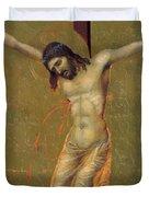 Crucifixion Fragment 1311  Duvet Cover