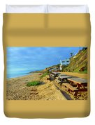 Crystal Beach Duvet Cover