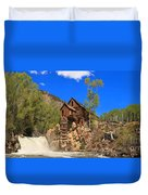 Crystal Colorado Historic Mill Duvet Cover