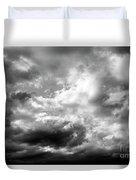 Cumulonimbus Clouds  Duvet Cover