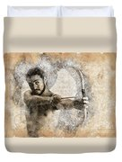 Cupid The God Of Desire 5 Duvet Cover