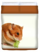 Curious Hamster Duvet Cover