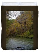 Current River 8 Duvet Cover by Marty Koch