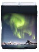 Curtains Of Light Duvet Cover