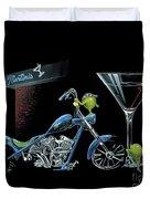 Custom Martini Duvet Cover