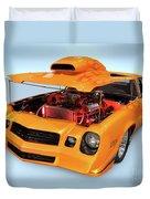 Custom Muscle Car Duvet Cover