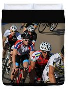 Cycle Racing Duvet Cover