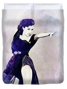 Cyd Charisse, Actress And Dancer Duvet Cover