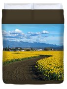 Daffodil Lane Duvet Cover
