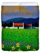 Daffodil Meadow Duvet Cover