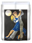Dance Me To The Moonlight Duvet Cover