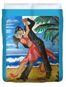 Dance With Me Make Me Sway Duvet Cover