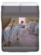Dancers At Rehearsal Duvet Cover