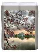 Dc Cherry Blossoms Duvet Cover