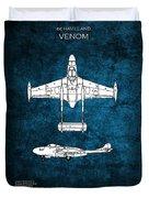 de Havilland Venom Duvet Cover
