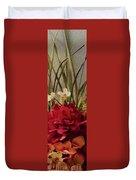 Decorative Mixed Media Floral A3117 Duvet Cover