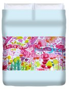 Delicious Pink Duvet Cover