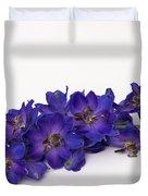 Delphinium Duvet Cover
