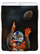 Demaryius Thomas Duvet Cover