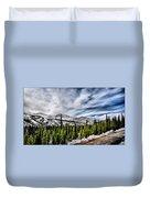 Denali Park - Alaska Duvet Cover