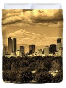 Denver Colorado Duvet Cover