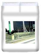Denver Mile Marker Duvet Cover