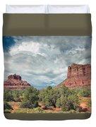 Desert View, Sedona, Arizona Duvet Cover