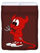 Devil Duvet Cover