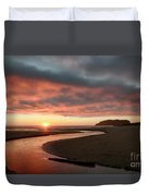 Devils Kitchen Sunset Duvet Cover