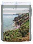 Devon Coastal View Duvet Cover