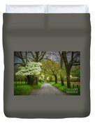 Dogwood Trail, Smoky Mountain, Tennessee Duvet Cover