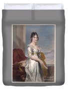 Dolley Payne Todd Madison Duvet Cover