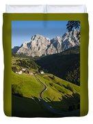 Dolomiti Landscape Duvet Cover