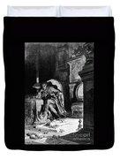 Dor�: The Raven, 1882 Duvet Cover