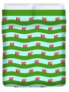 Double Decker Bus Duvet Cover