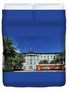 Downtown New Orleans Duvet Cover