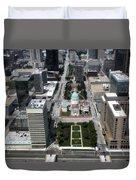 Downtown St Louis Duvet Cover
