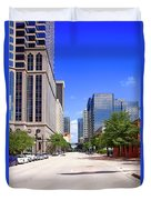 downtown Tampa FL, USA Duvet Cover