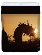 Dragon At Dawn Duvet Cover